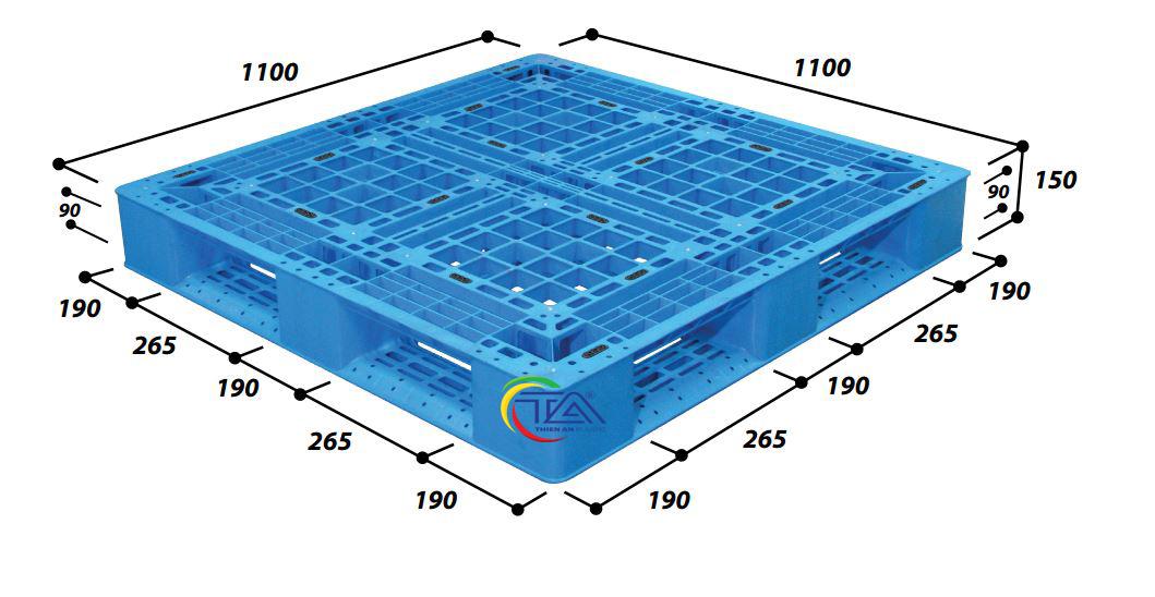 Pallet Nhựa N4-1111LA-Pro