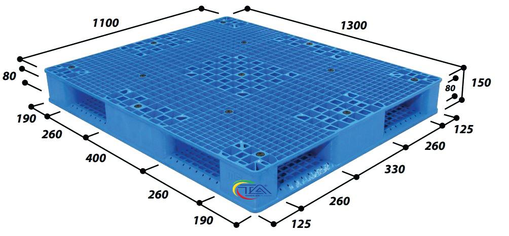 Pallet Nhựa R4-1311-2Pro