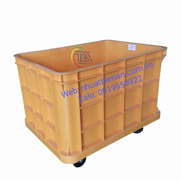 Thùng Nhựa Có Bánh Xe TJB200C