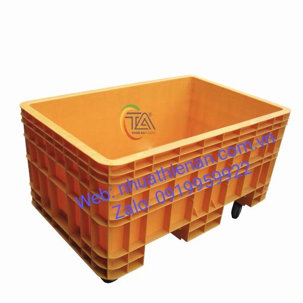 Thùng Nhựa Có Bánh Xe TJB600C