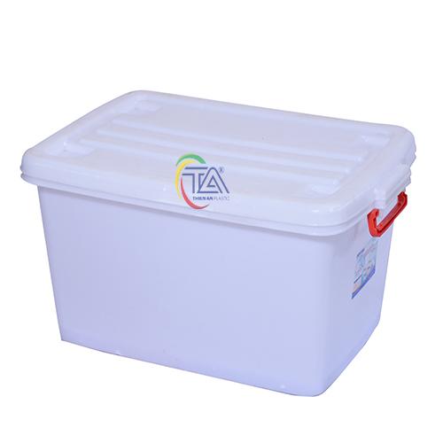 Thùng Nhựa Có Nắp 140 Lít KT: 785x560x470mm