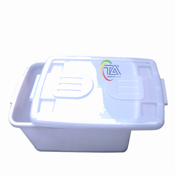 Thùng Nhựa Có Nắp TA30 KT: 520x320x270mm