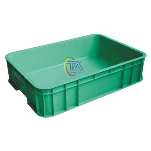 Thùng Nhựa Đặc B11 KT: 630x420x144mm