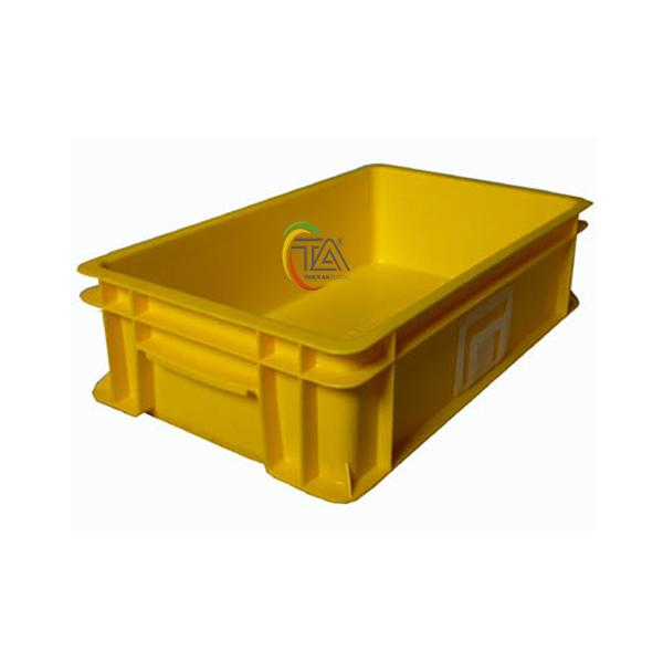 Thùng Nhựa Đặc B2 KT: 455x270x120mm