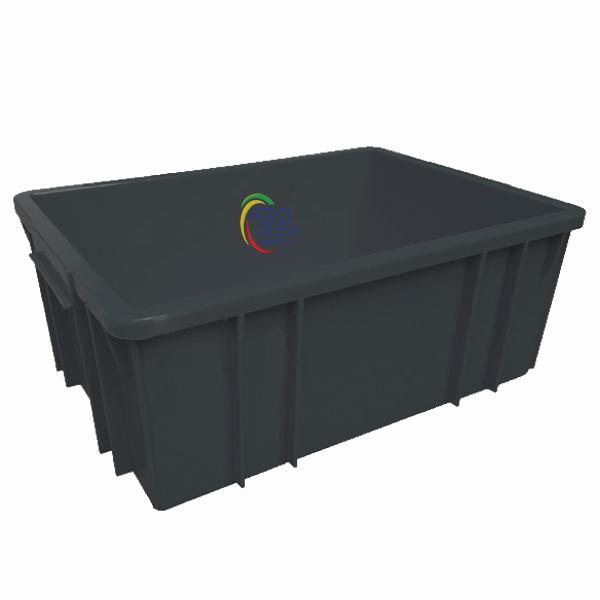 Thùng Nhựa Đặc B3 Chống Tĩnh Điện KT: 460x330x182mm