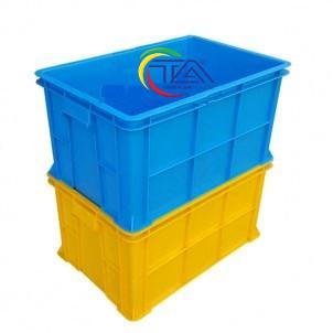 Thùng Nhựa Đặc B5 Xếp Chồng