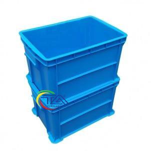 Thùng Nhựa Đặc B6 Xếp Chồng
