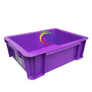 Thùng Nhựa Đặc B7 Màu Tím