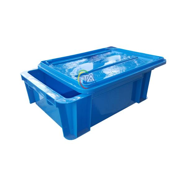 Thùng Nhựa Đặc B7 KT: 370x280x125mm