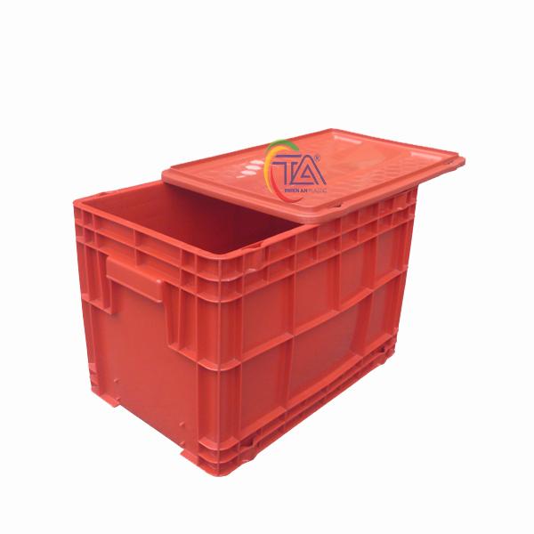 Thùng Nhựa Đặc DCS 403 KT : 325x500x344mm