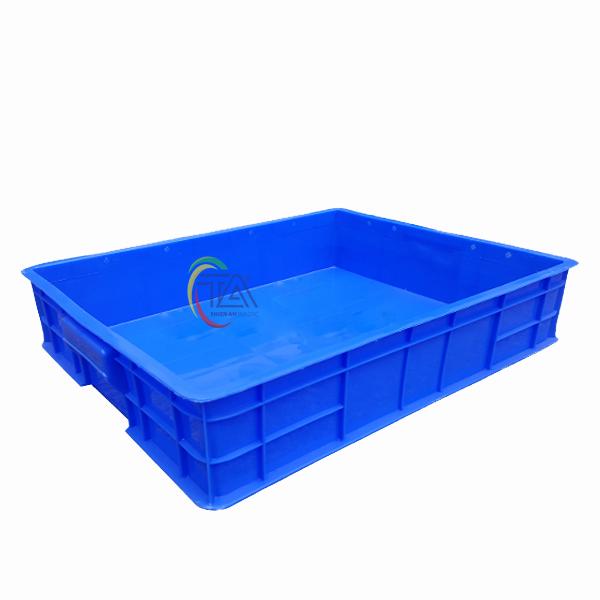 Thùng Nhựa Đặc HS006 KT: 530x430x110mm