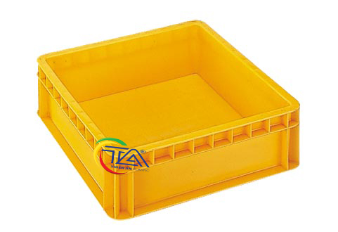 Thùng Nhựa Đặc NMC401-TA KT:430x430x140mm