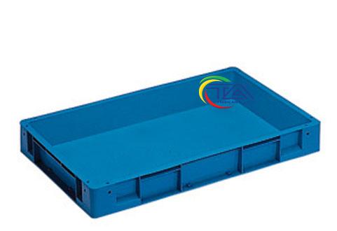 Thùng Nhựa Đặc NTC741-TA KT: 765x585x105mm