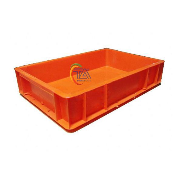 Thùng Nhựa Đặc TA005 KT: 502x335x103mm