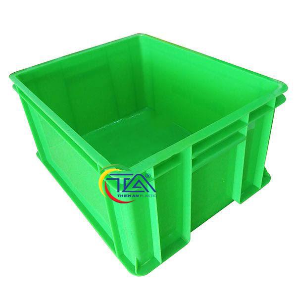 Thùng Nhựa Đặc TA01 KT:460x370x230mm