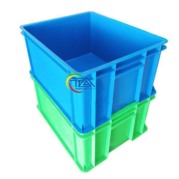 Thùng Nhựa Đặc TA01 Xếp Chồng