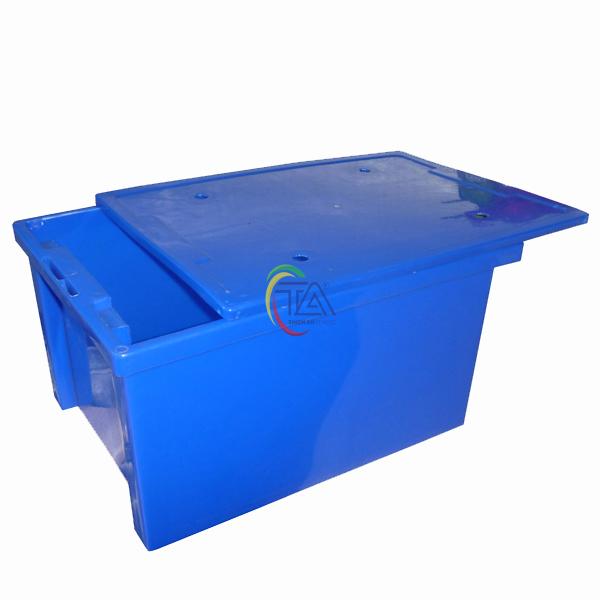 Thùng Nhựa Đặc TA25 KT: 445x325x240mm