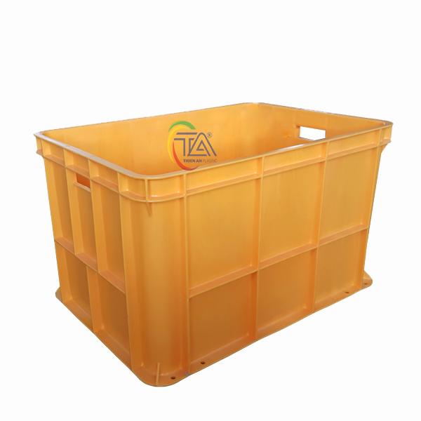 Thùng Nhựa Đặc TJB 100 KT : 685x485x415mm