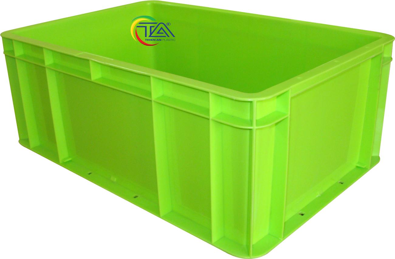 Thùng Nhựa Đặc TTA 342 KT:500x330x200mm
