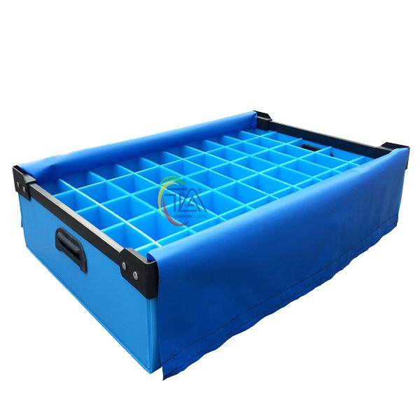 Thùng Nhựa Danpla TA02 Có Vách Ngăn