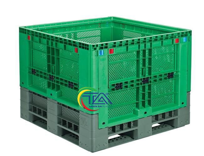 Thùng Nhựa NJC-800 KT: 1100x1100x1065mm