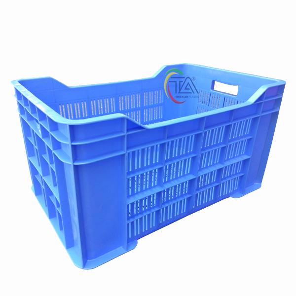 Thùng Nhựa Rỗng HS028 KT: 535x350x285mm