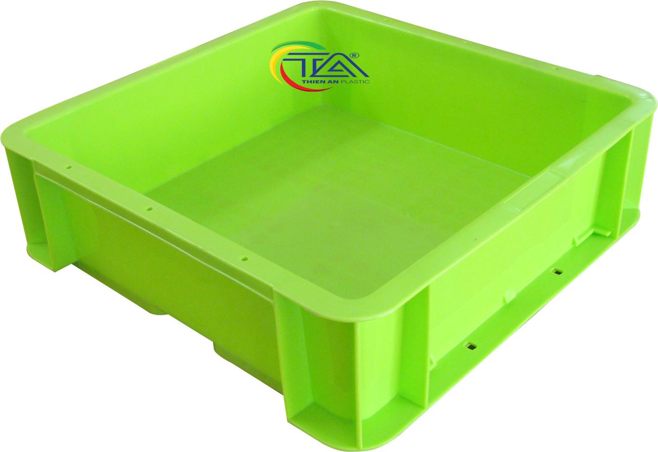 Thùng Nhựa TTA 331 KT:330x330x100mm