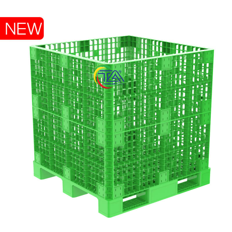 Thùng Pallet Box KT:1200x1200x1250mm