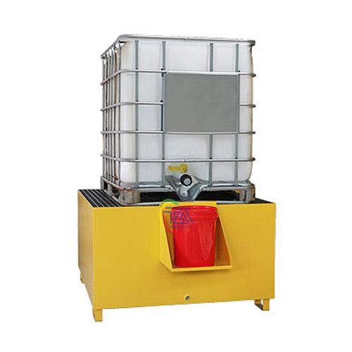 Thùng Pallet chứa dầu tràn bằng thép IBC SPM112