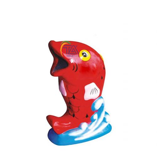 Thùng Rác Nhựa Cá Chép KT: 1100x600mm