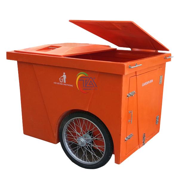 Thùng rác nhựa Composite 1000 Lít