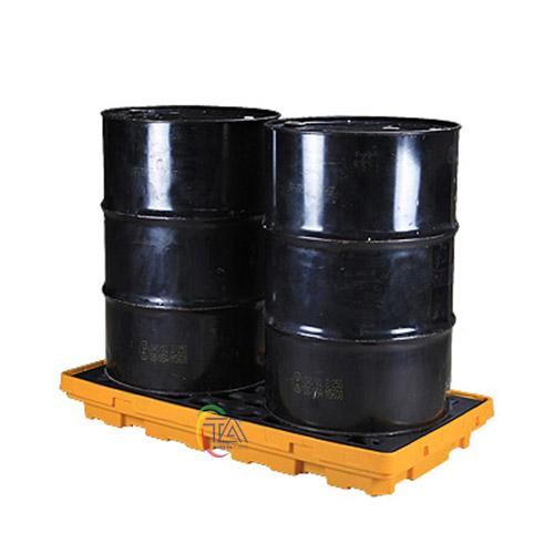 Bàn nhựa chứa phuy chống tràn dầu SPP101