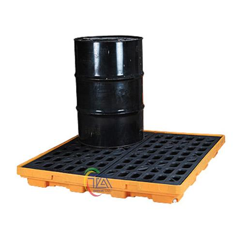 Bàn nhựa chứa phuy chống tràn dầu Poly SPP103