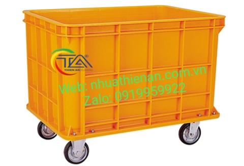 Thùng Nhựa Có Bánh Xe TJB400TA