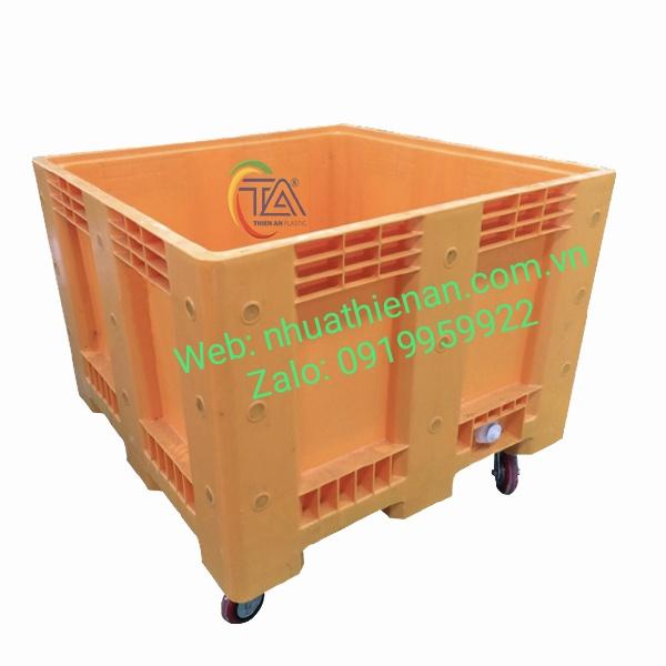 Thùng Nhựa Có Bánh Xe TJB625P