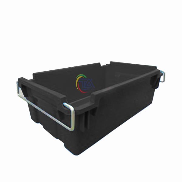 Thùng Nhựa Đặc A2 Chống Tĩnh Điện KT: 610x380x206mm