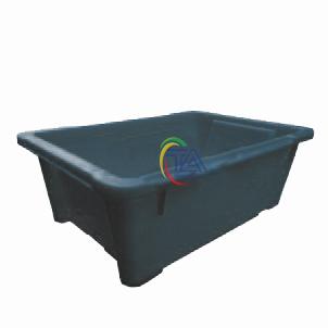 Thùng Nhựa Đặc A4 Chống Tĩnh Điện KT: 235x150x80mm