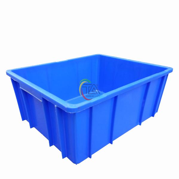 Thùng Nhựa Đặc B10 KT: 495x395x235mm