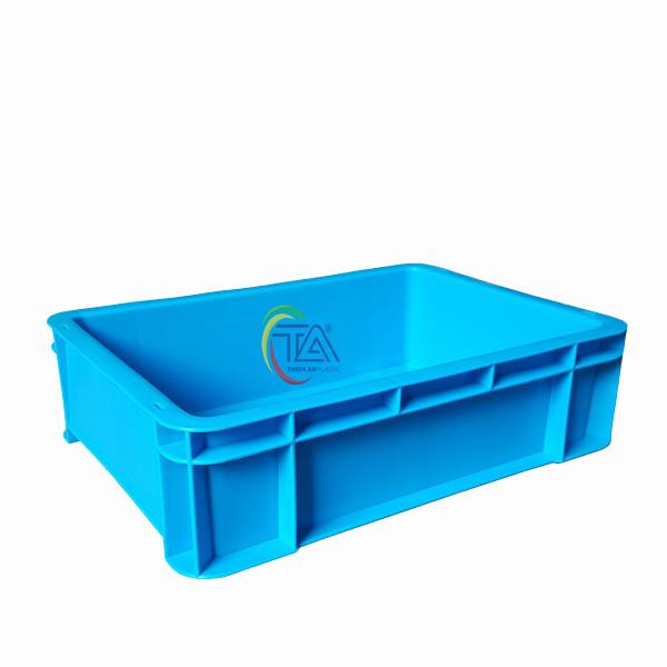 Thùng Nhựa Đặc B12 KT: 350x253.5x100mm