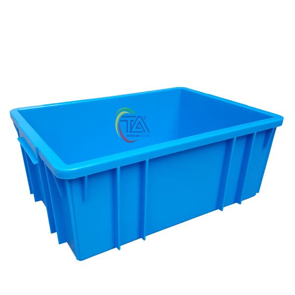 Thùng Nhựa Đặc B3 KT: 460x330x182mm