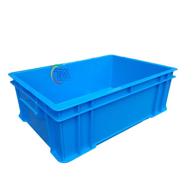 Thùng Nhựa Đặc B4 KT: 510x340x170mm