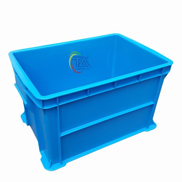 Thùng Nhựa Đặc B6 KT: 438x293x252mm