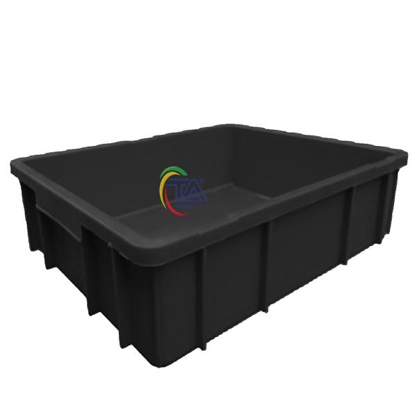 Thùng Nhựa Đặc B9 Chống Tĩnh Điện KT: 495x395x115mm