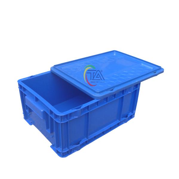 Thùng Nhựa Đặc DCS 504 KT:375x290x93mm