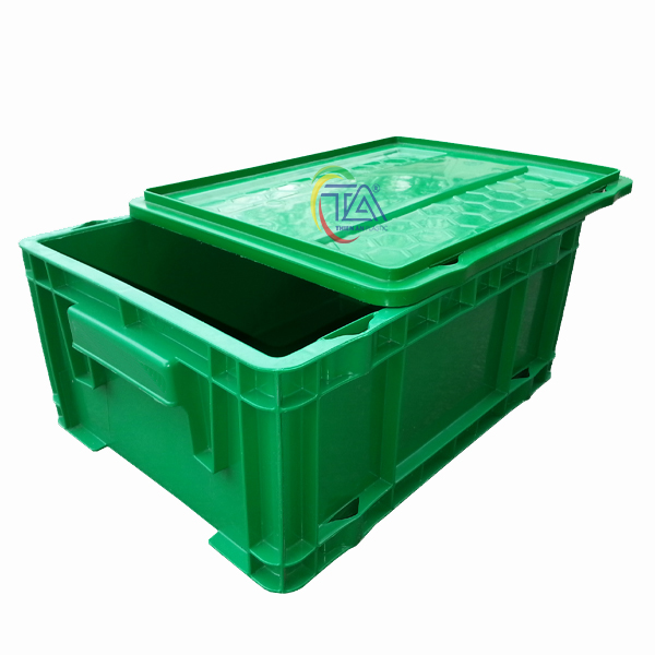 Thùng Nhựa Đặc DSC 502 KT: 290x375x177mm