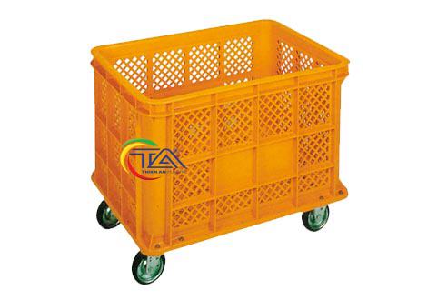 Thùng Nhựa Đặc NJB400G-TA KT:1095x795x640mm