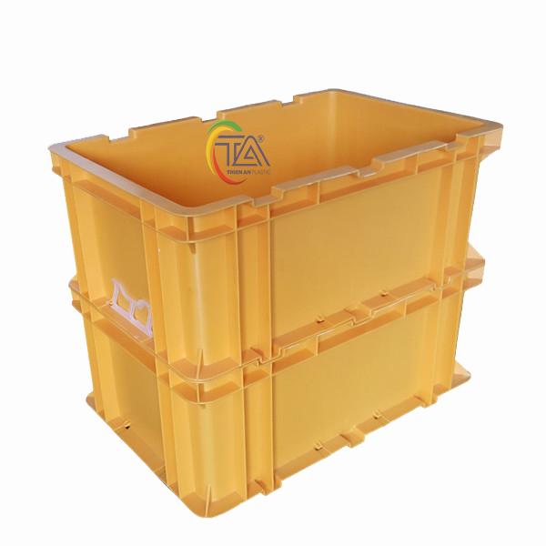 Thùng Nhựa Đặc TAC 602 KT : 600x400x240mm