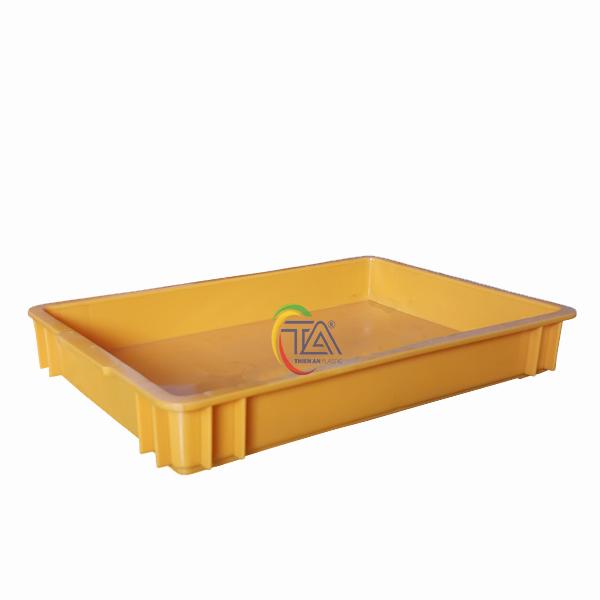 Thùng Nhựa Đặc TMP 302 KT : 483x333x70mm