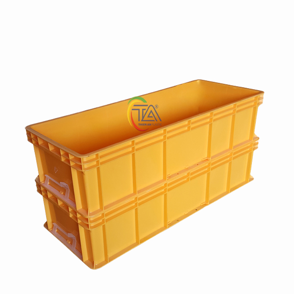 Thùng Nhựa Đặc TTC 831 KT : 838x335x195mm