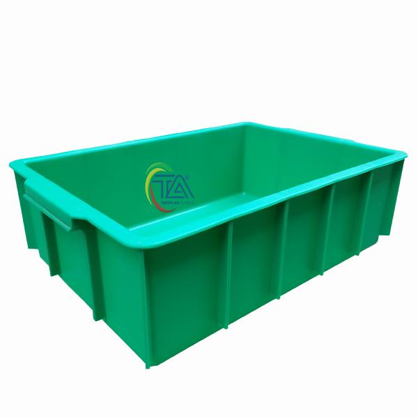 Thùng Nhựa Đặc YM 003 KT: 445x305x125mm